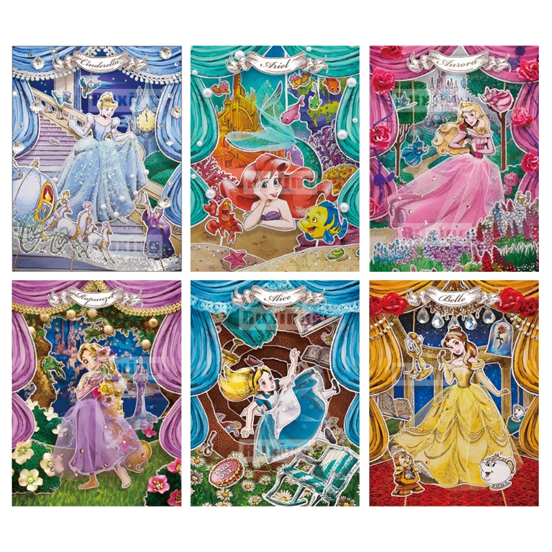 Cartoon princess 5D DIY Diamond Painting
