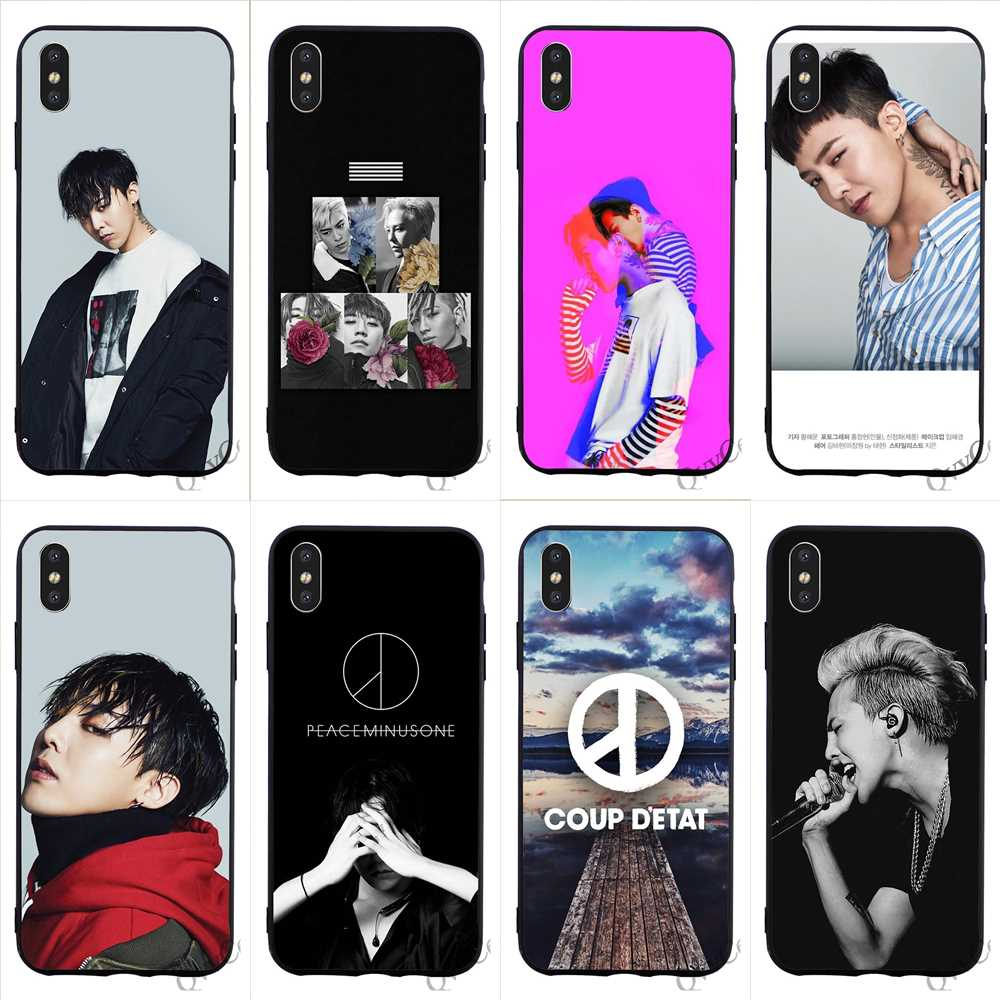Fashion <font><b>BIGBANG</b></font> GD G-DRAGON Phone Cover for iPhone 5S Case XR X 7 5 8 Plus 6 6S SE Xs Max Cases Back image