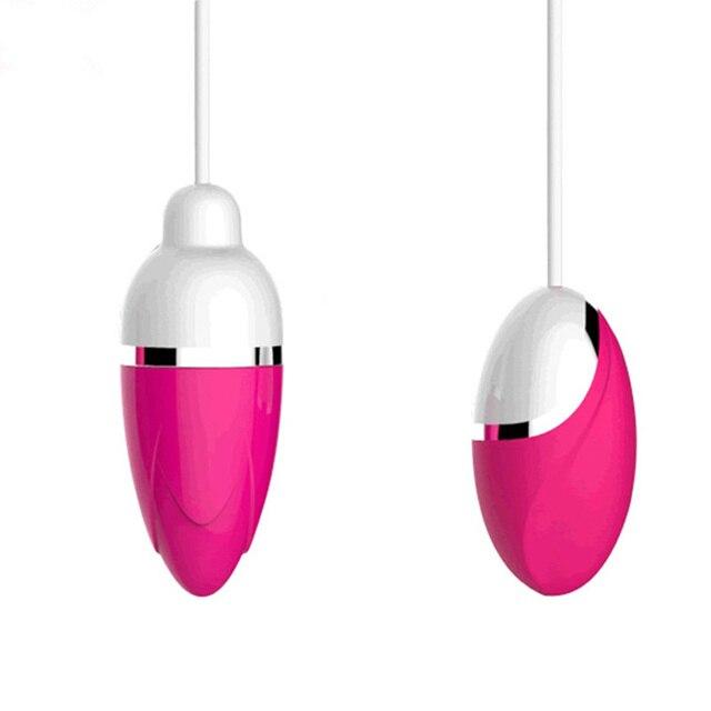 10 fréquence intelligente oeufs vibrants rechargeables USB étanche filaire vagin balle Sex Shop vibrateur masseur jouets sexuels pour femme