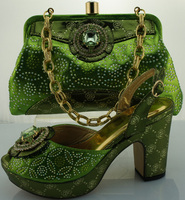 Italian Shoe And Bag Set For Party In Women Match Shoes With Bag Set High Quality