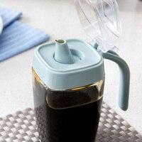 Glass Oil Pot Large Oil Bottle Vinegar Bottle Sesame Oil Bottle Kitchen Utensil Tank Oil Tank