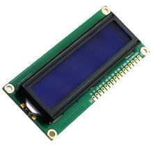 Синий экран ЖК-дисплей 1602A 5 В белый слова с подсветкой ЖК-дисплей 1602 ЖК-дисплей модуль