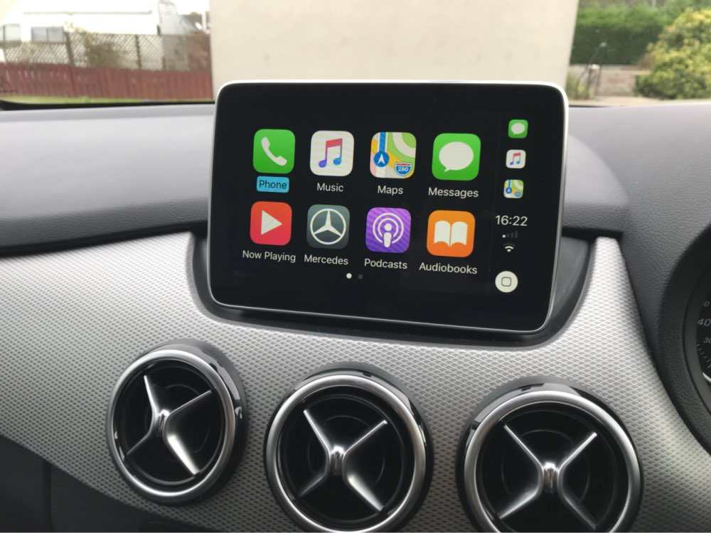 Apple Carplay And Android Auto Activation Tool For Mercedes B Enz