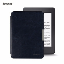 Easyacc Original Thin PU Leather Case for Amazon Kindle Paperwhite Cover 1 2 3 2012 2013 2015 Smart 6 inch E-book Auto Sleep/Wak