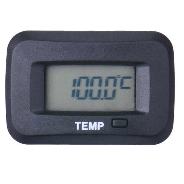 Digital waterproof temp sensor TEMP temperature thermometer for motorcycle outboard chainsaw paramotor tractor ATV pit bike