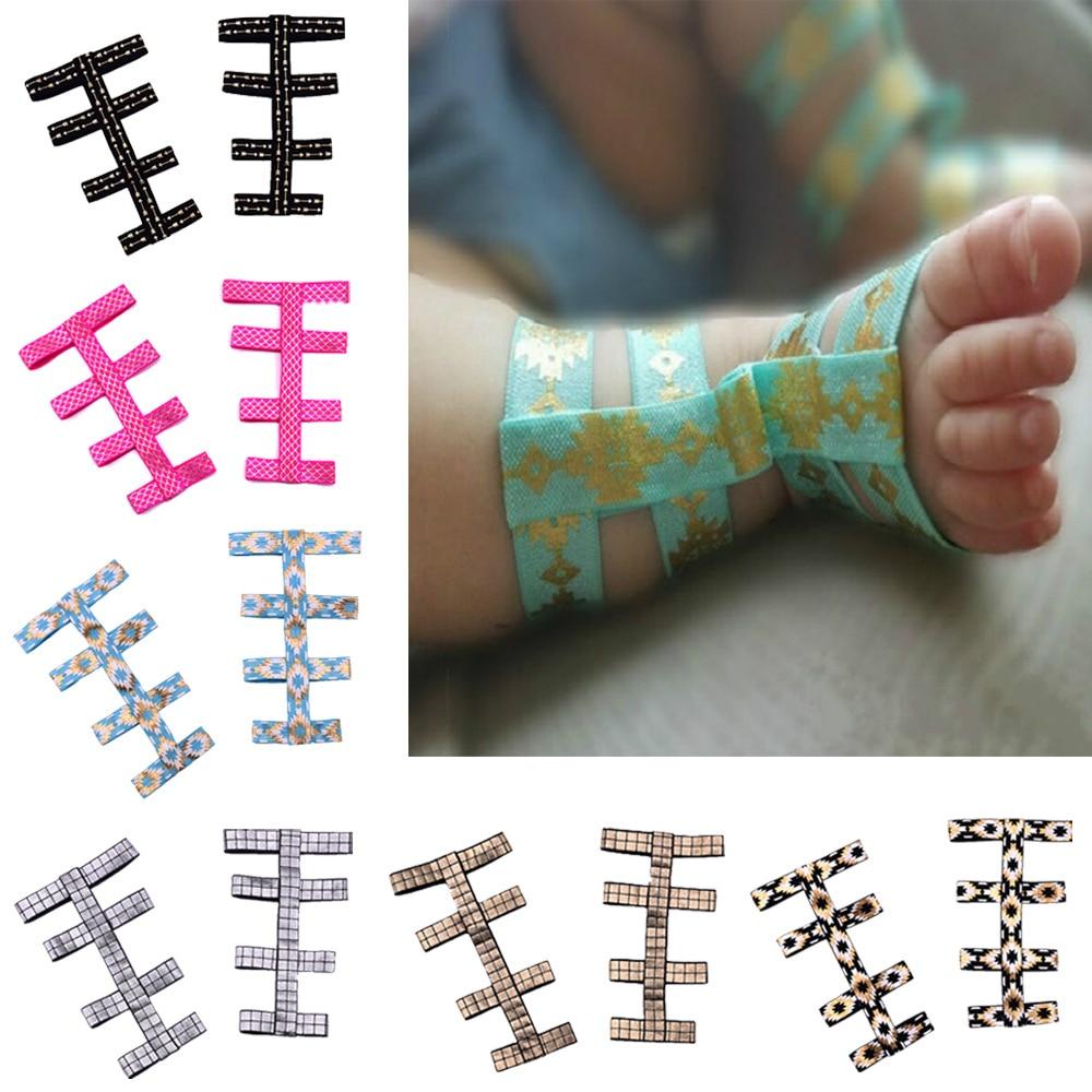 Baby Boy Girl Sandals Stretch Comfortable Infant Barefoot Gladiator Sandals Flower Summer New 2017 Baby Designer Summer Sandals