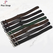 Купить с кэшбэком Plus Strap Handmade 180mm Nato 4 Colors Fashion Watch Strap Replacement For Interchangeable Watch 20 22mm Men Watchband