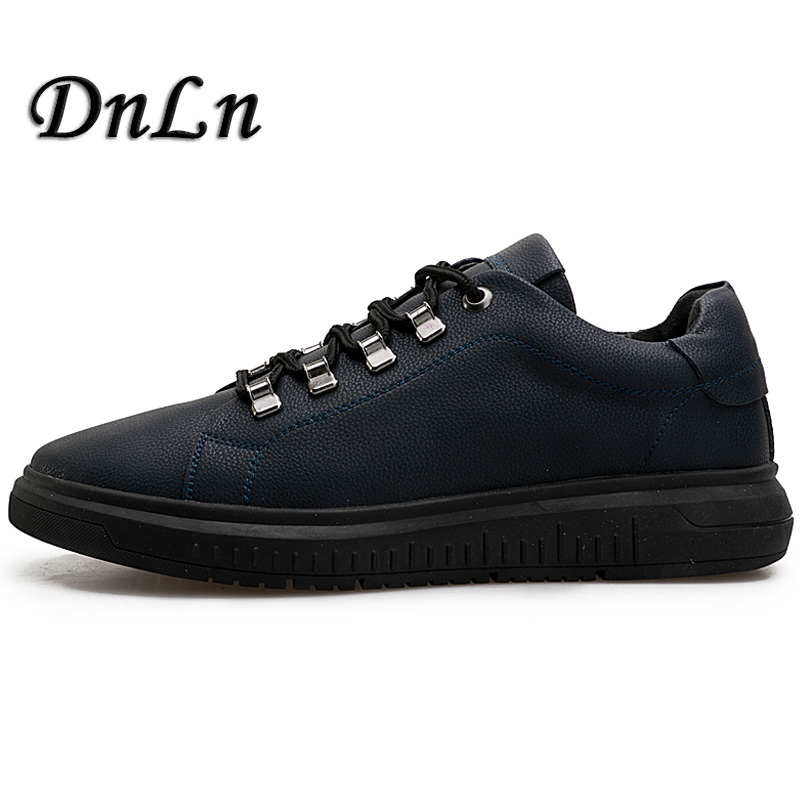 Male Spring Flats Genuine Leather Shoes Brand Men Casual Shoes Black Blue Color D30 cbjsho brand men shoes 2017 new genuine leather moccasins comfortable men loafers luxury men s flats men casual shoes