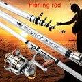Телескопическая удочка для путешествий  портативная удочка для морской рыбалки для Пресноводной и соленой воды B2Cshop