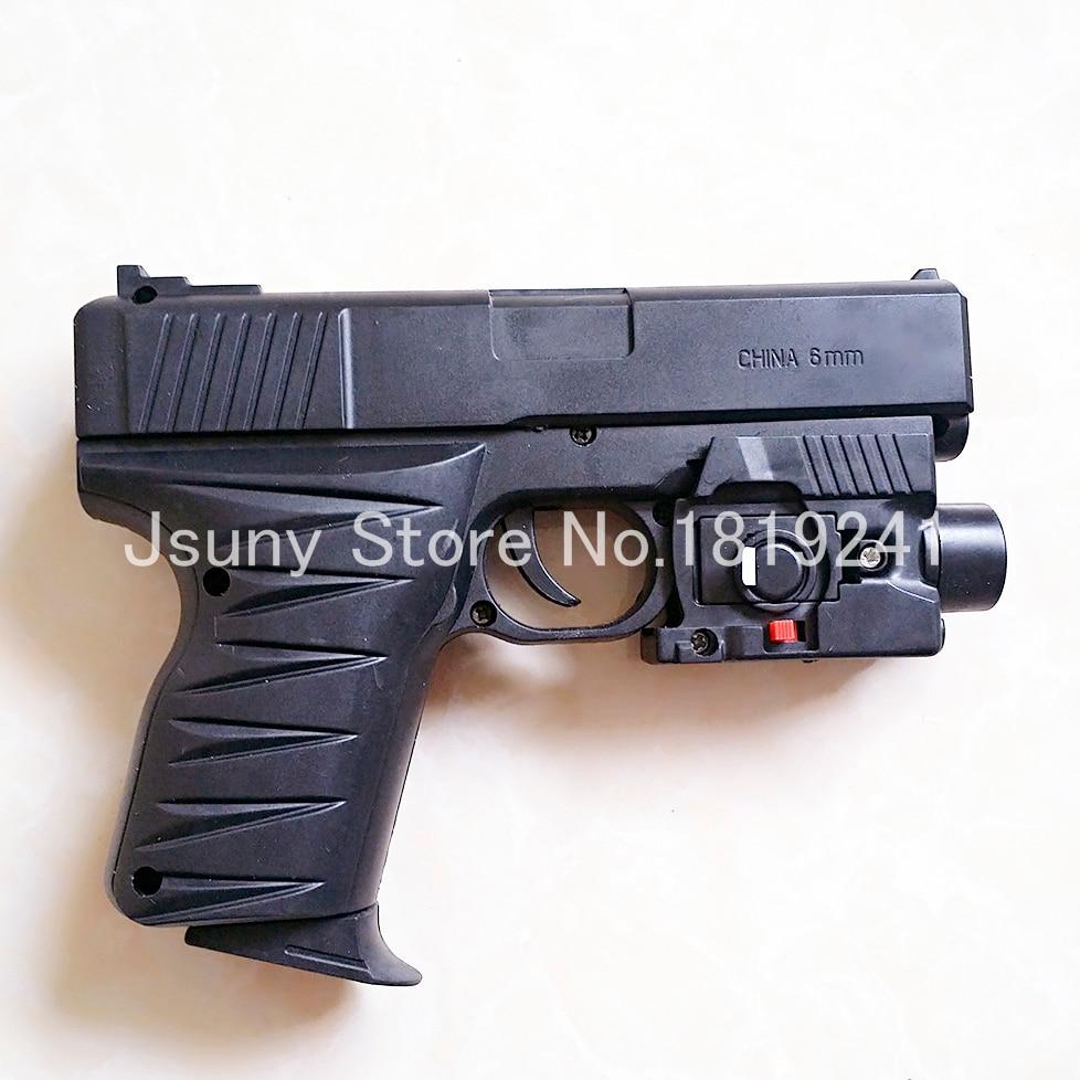 Porch Light Handguns: 1 Set Light Airsoft Air Guns Desert Eagle Plastic Gun Toy