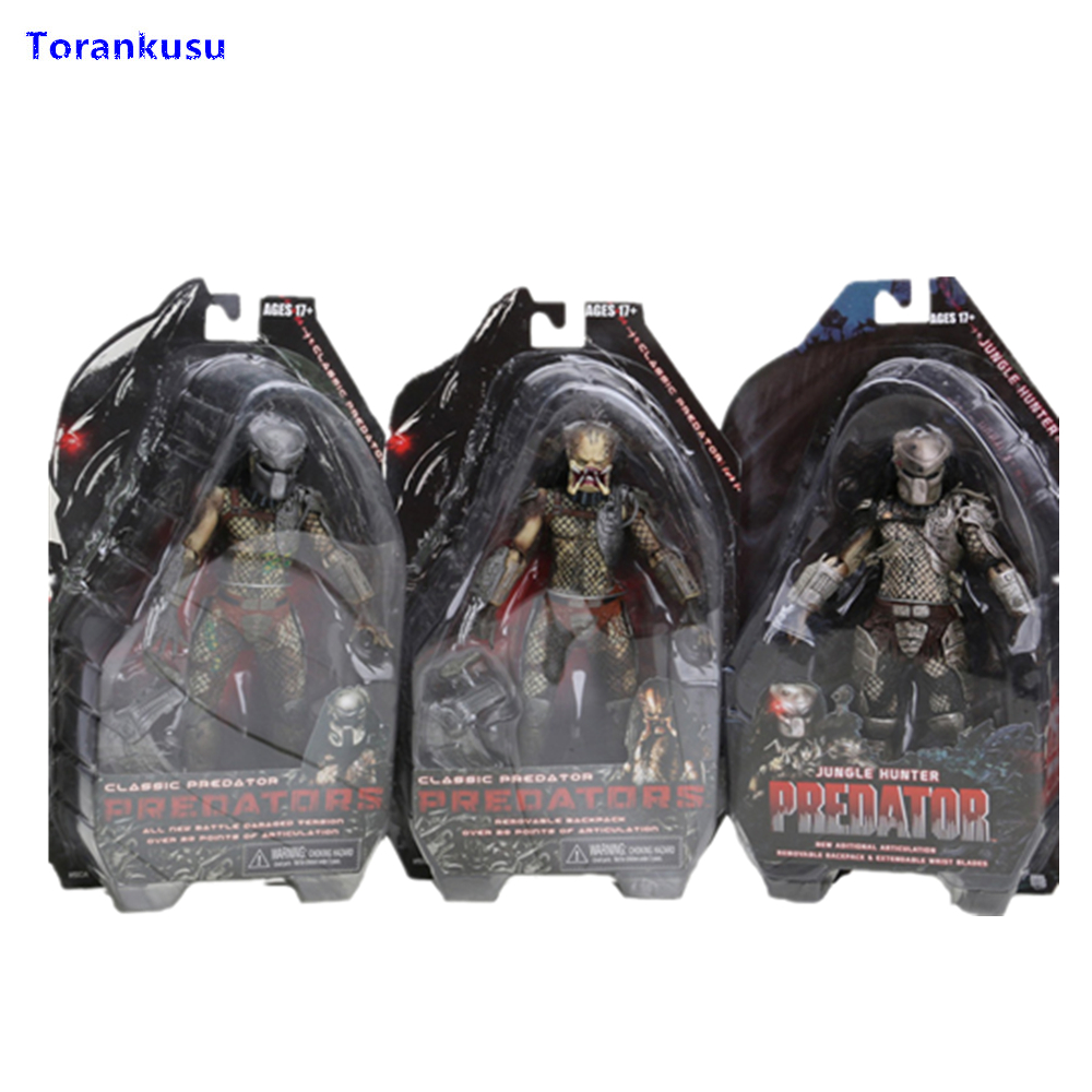 Predator Series 2 Classic Predator PVC Predator Action Figure Predator Toys Collection Toy Model Toys For Children XPC