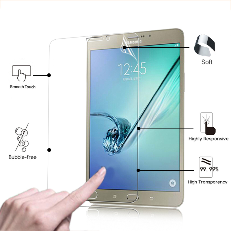 Best High Clear Glossy Screen Protector Film For Samsung GALAXY Tab S2 T710 T715 8.0