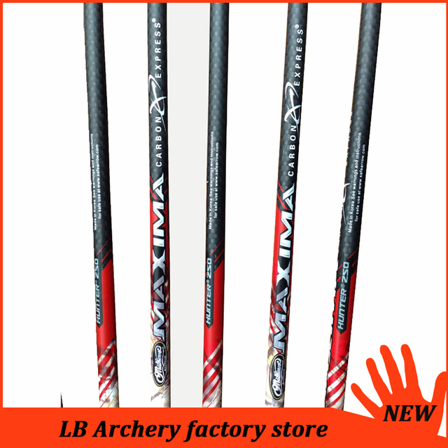 6/12PCS 32″ 3K Weave Carbon Arrows SP400 ID6.2mm Changeable Broadheads Compound Bow Hunting Archery