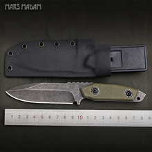High hardness D2 steel Sharpest Tactical Survival Knives Leather Sheaths Outdoors Camping EDC Rescue Tools