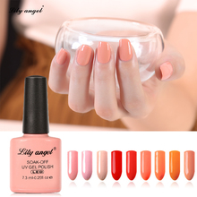 Lily angel 108 Colors Luxury Soak Off UV Nail Gel Polish Nail Art Cure Gel Varnish Professional Pure Gel Polish 001 - 024
