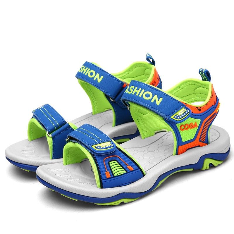 ULKNN Children Sandals Open-toe sandalia infantil kids Sport Running School Shoes Summer Boys Sandals For Kids Beach Shoes