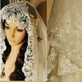 Fashion White or Ivory Wedding Veils Crystal 110-135 cm or 3 Meters Long Lace Wedding Veil Cathedral Wedding Veil veu de noiva