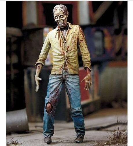1/35 Soldier Walking Man Zombie Fictional Undead  Resin Figure Model Kits Miniature Gk Unassembly Unpainted
