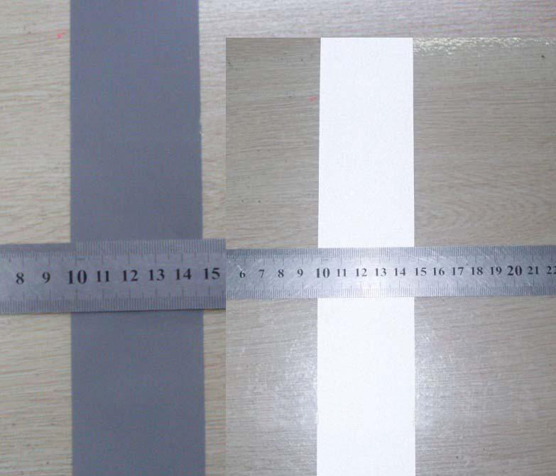 Highlight Reflective fabric material TC base 100CM*100CM Reflection coefficient 260 cd/lx.m2