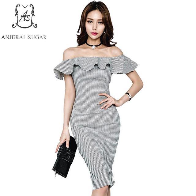 Vestido de fiesta mujer gris