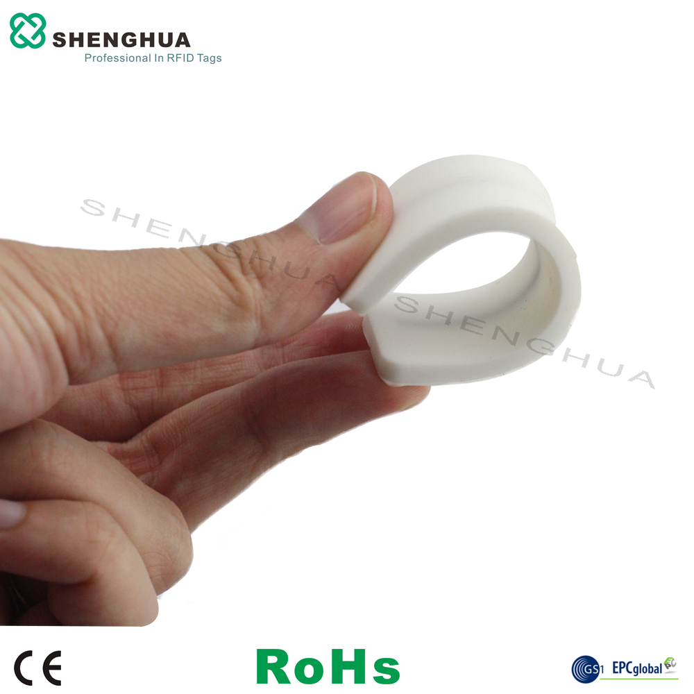10pcs/pack Garment Rfid Management Labels Long Reading Range Uhf Rfid Wash Care Label Silicone Rfid Laundry Sticker Long Range