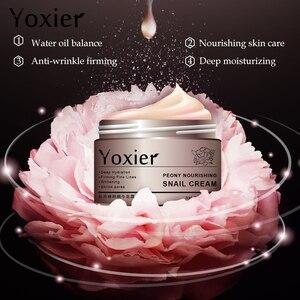 Image 5 - Tag Cremes Feuchtigkeitscremes Koreanische Kosmetik Geheimnis Hautpflege Schnecke Creme Hyaluronsäure Essenz Creme Für Gesicht Anti Aging Falten
