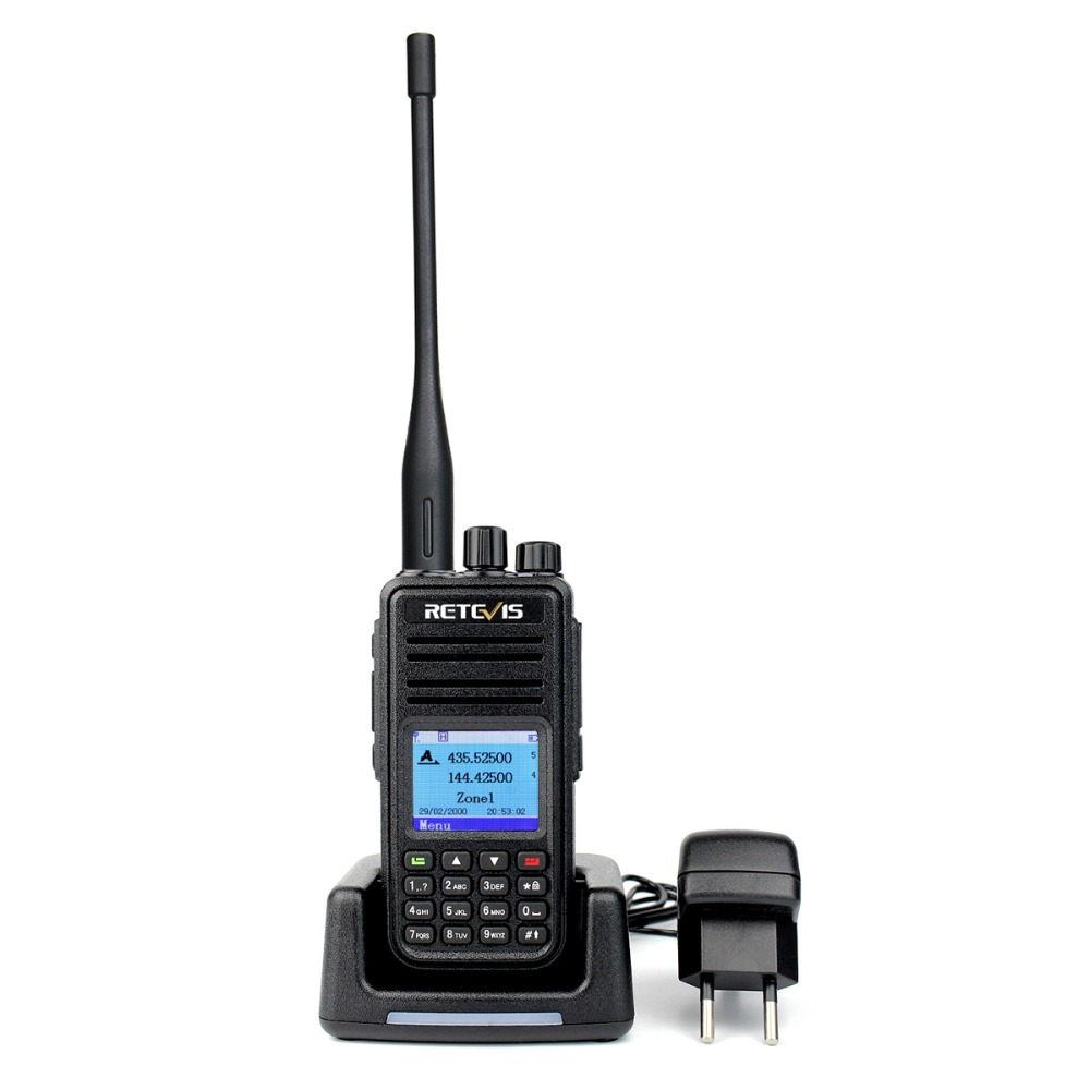 band digital Dual Band DMR Radio Digital Walkie Talkie 10pcs Retevis RT3S GPS DCDM TDMA Amateur Radio Hf Transceiver (3)