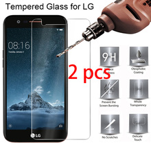 2 pcs! 9H HD Protective Tempered Glass for LG Q8 Q7 Q6 Stylus 3 2 Plus Toughed Screen Protector for LG V40 V30 V20 V10 X Power