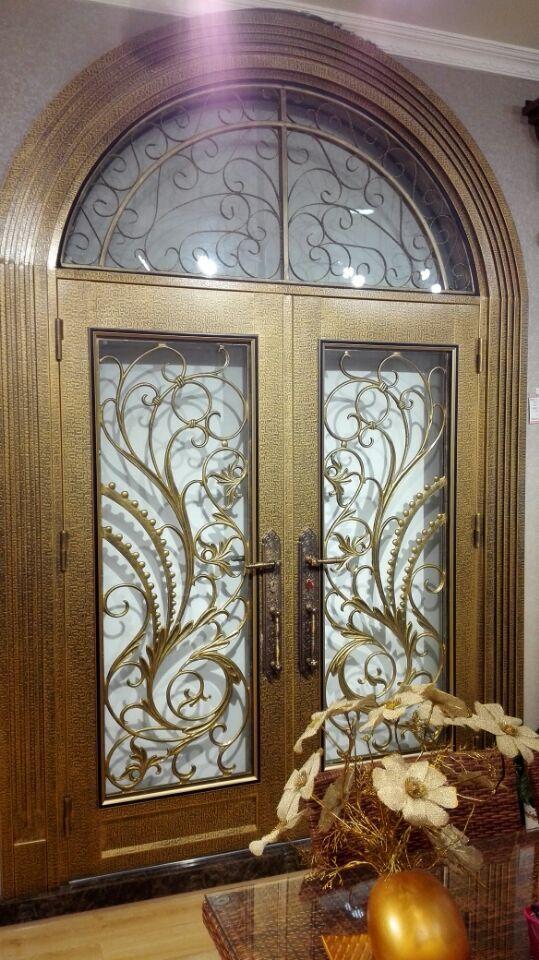 Wrought Iron Door Double Wrought Iron Doors Iron Front Doors D8 In Doors  From Home Improvement On Aliexpress.com | Alibaba Group