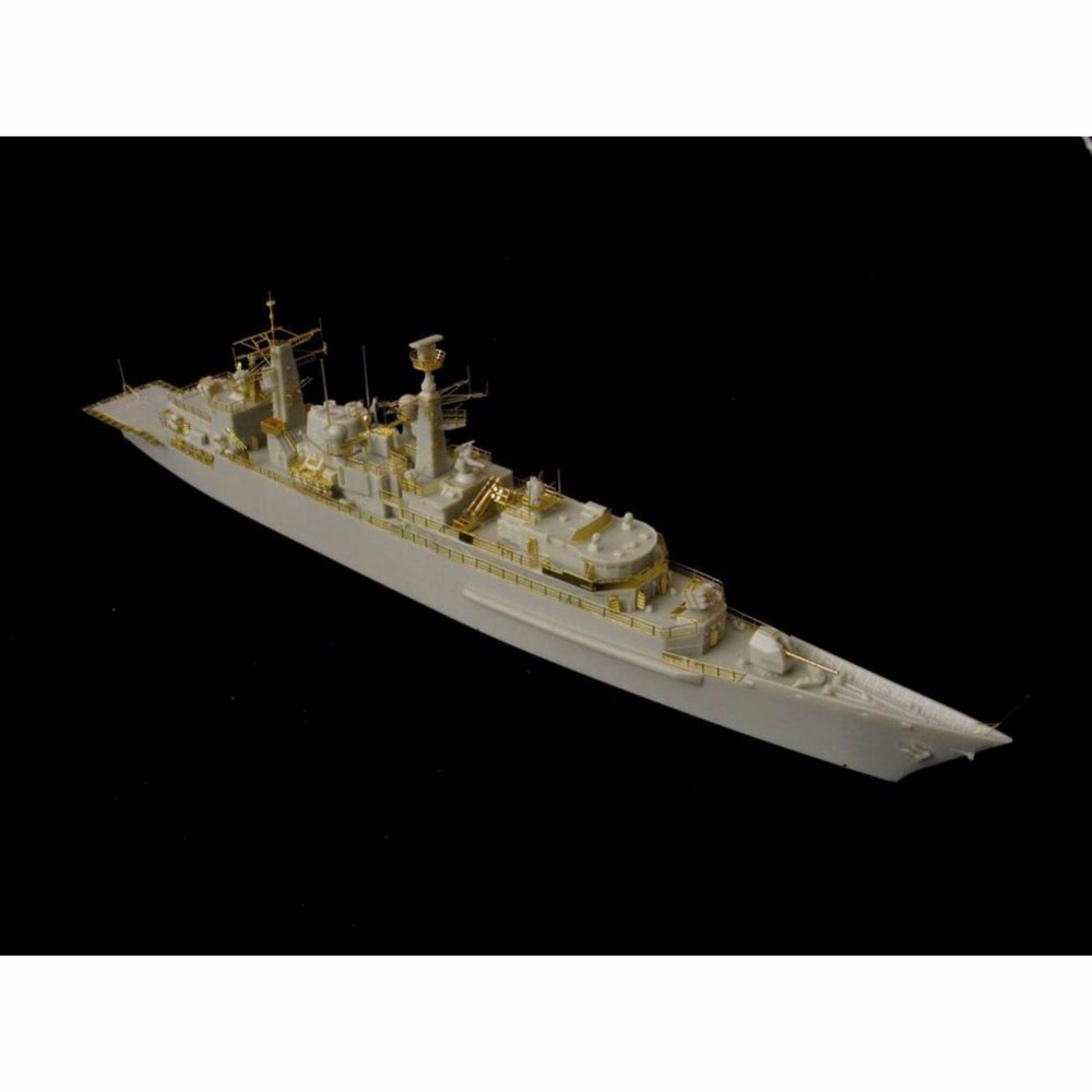 OHS Orange Hobby N07098240 1/700 HMS Campbeltown F86 Type 22 frigate Batch 3 Assembly Scale Military Ship Model Building Kits ohs orangehobby n03130 1 350 u s s uss lsd 49 dock landing ship assembly navy model kits