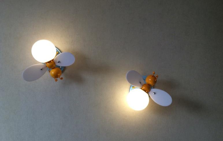 მულტფილმი Iron Firefly & Bee Wall - შიდა განათება - ფოტო 3