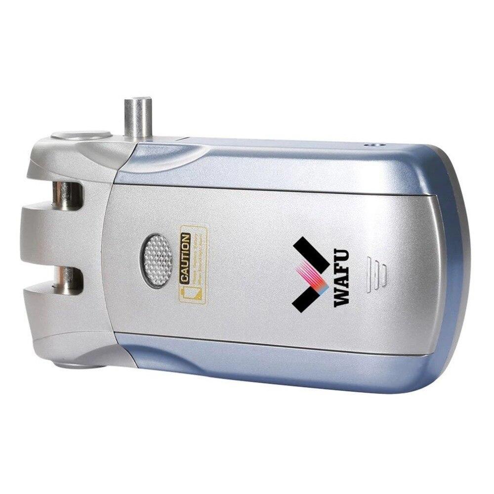 Wafu 18 serrure de porte sans fil 4 télécommande électronique serrure intelligente tactile/Bluetooth serrure sans USB transferencia espagne entrepôt
