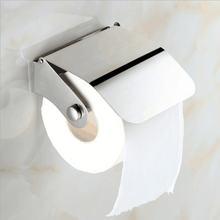 Настенный держатель для туалетной бумаги с крышкой Ванная туалетная