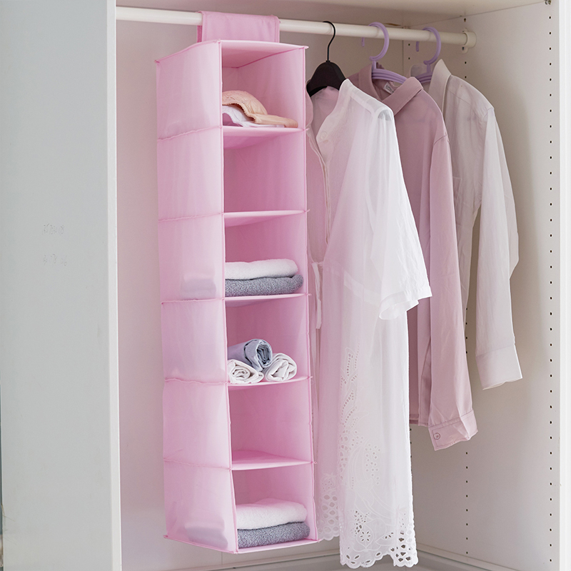 Household Oxford Hanging Organizer Home Wall Closet Wardrobe Organization Clothes Underwear Drawer Container Box Lot