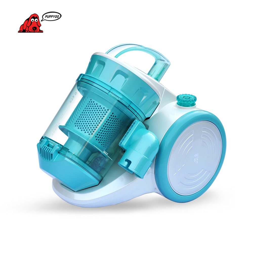 PUPPYOO Low Noise Aspirator Mites-killing Vacuum Cleaner for Home Vacuum Cleaner Powerful Suction Dust Collector WP968 puppyoo mini mattress uv vacuum cleaner for home free shipping aspirator bed cleaning appliances mites killing collector wp606