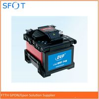 Dvp-740 цифровой один Волокно сварочный аппарат FTTH Волокно-оптический Сращивание машины оптический Волокно сварочный аппарат