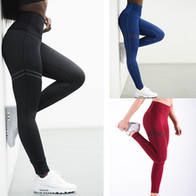 2019 Promotion Rushed Womens Sport Leggings Out Fitness Gym Seamless Slim Compression Squat Tights High Waist Yoga Pants D16