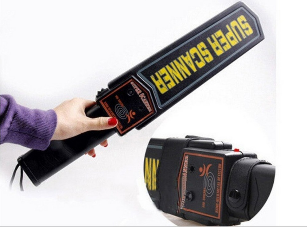 2018 hot selling !portable Professional Super Scanner Handheld Metal Detector for Security Checking