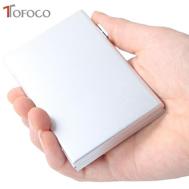 2017 TOFOCO Aluminium Alloy Micro for SD MMC TF Memory Card Storage Box Protecter Case 4x for SD Card 8 x Micro SIM Card 4