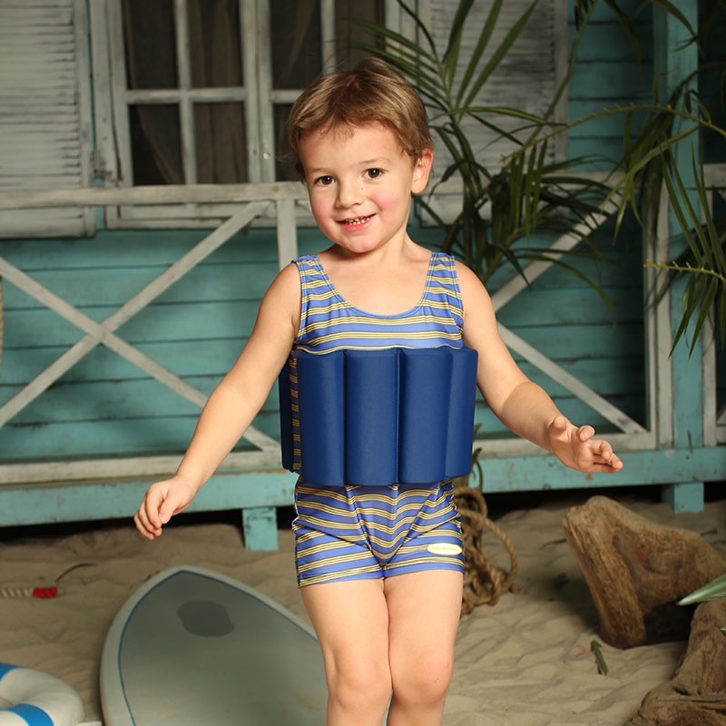 Children's bathing suit for a boy blue  sailor height 86 blue Baby Swimmer BS-SW-B1 page boy suits kids wedding suits navy blue wedding tuxedo for children prom suit for 2 15 years