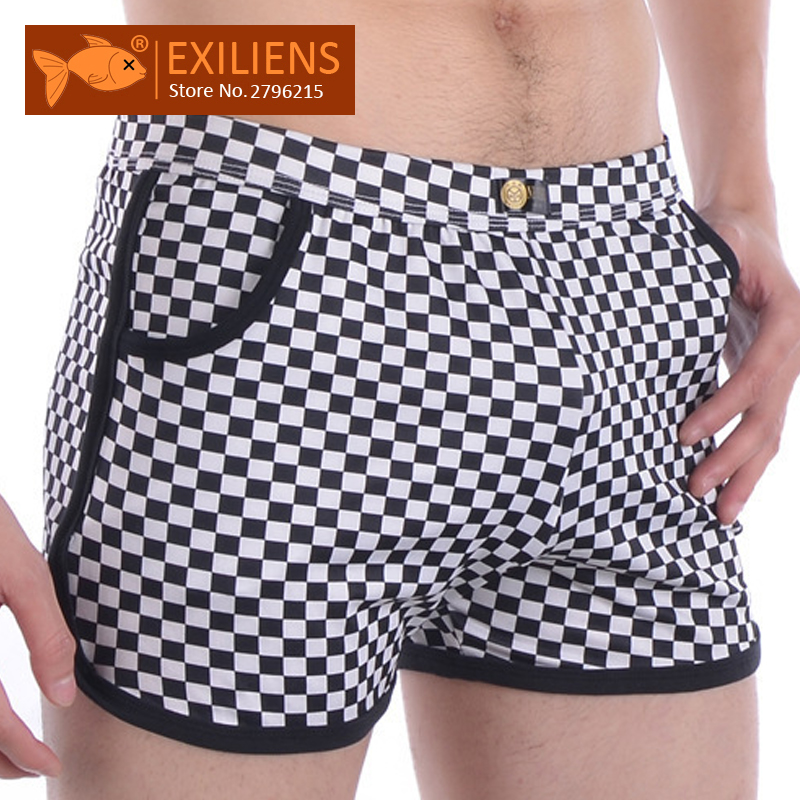 EXILIENS Boxer Mens Underpants-Size Arrow-Shorts Cueca New-Brand Masculina 112201 M-XL
