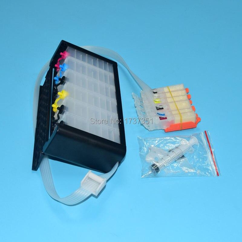 Système Ciss 6 couleurs PGI-270 CLI-271 avec puce ARC pour Canon PIXMA mg7720 imprimante à jet d'encre pgi 270 cli 271