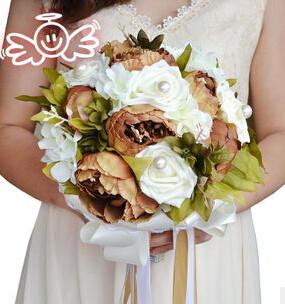 Bride-Bouquet-Vintage-Artificial-Flower-Wedding-Bouquet-Peony-Wedding-Flowers-Romantic-Fashion-bouquet-de-noiva-Pink (2)