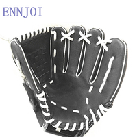 black colour children adult left and right hand high quality baseball glove non slip super soft wear resisting