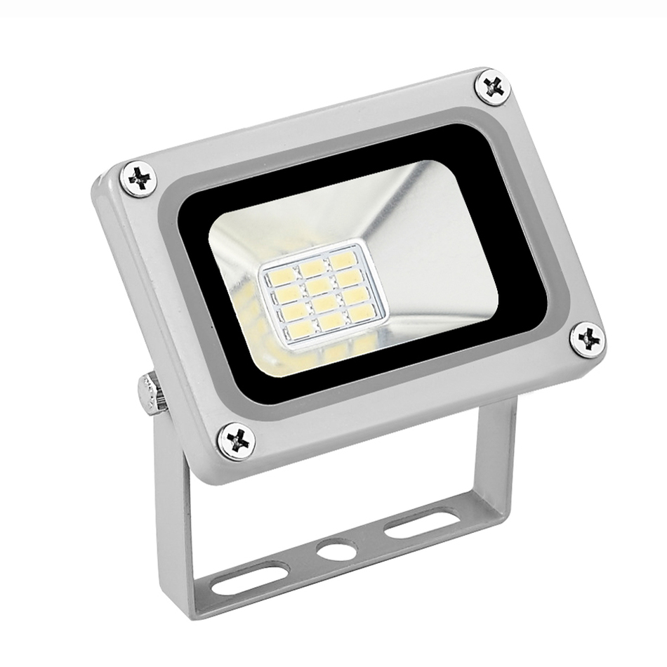 Mini led flood light 10w cold white warm white ip65 for Exterior led lights