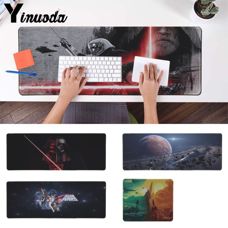 Maiya New Arrivals Star Wars Locking Edge Mouse Pad Game Rubber PC Computer Gaming mousepad image