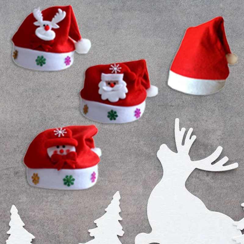 เด็กทารกคริสต์มาสหมวก Santa Claus Reindeer Snowman แฟชั่นหมวกสำหรับชายหญิงคริสต์มาสของขวัญ