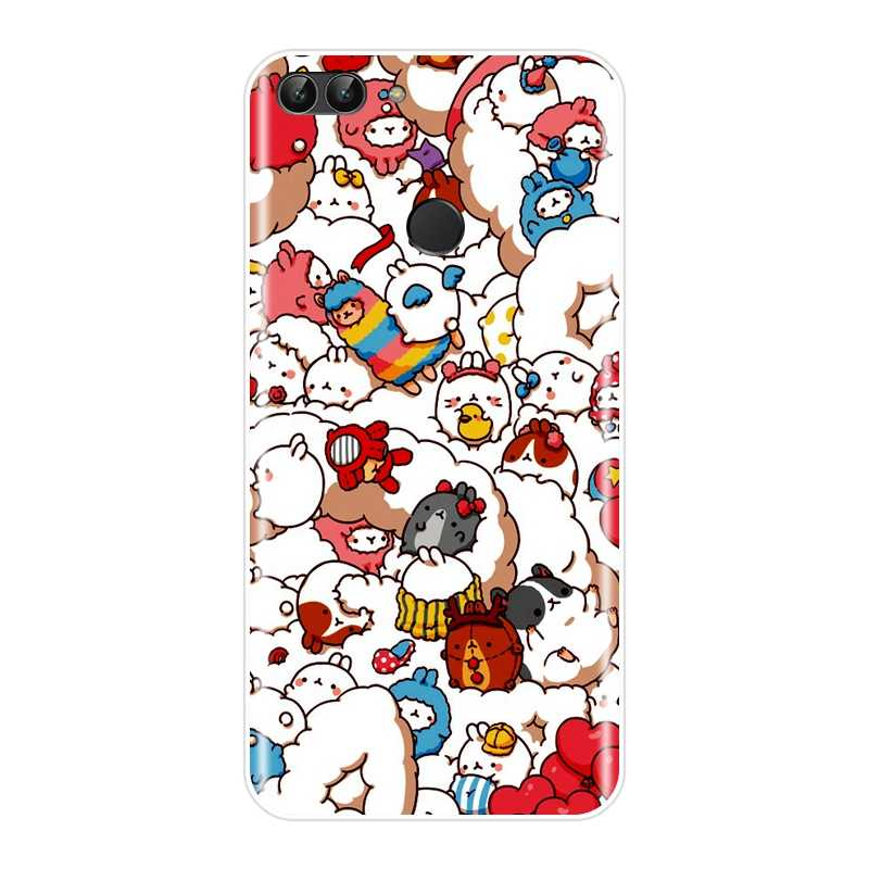 Soft TPU Case voor Huawei P8 P9 P10 P20 Lite 2017 Silicone Telefoon Gevallen voor Huawei P9 Lite Mini P10 P Smart Plus P20 Pro Cover