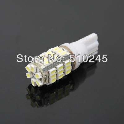 100X Car Auto LED T10 194 W5W 42 led smd 3020 Wedge LED Light Bulb Lamp T10 42SMD White Free shipping
