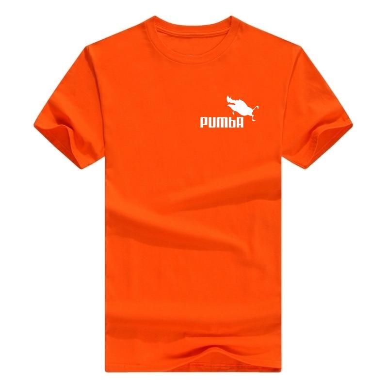 ENZGZL летняя новая мужская футболка из хлопка, футболки с коротким рукавом, высокое качество, футболки для мальчиков, топы темно-синего цвета, это я E4930 - Цвет: x-Orange-b